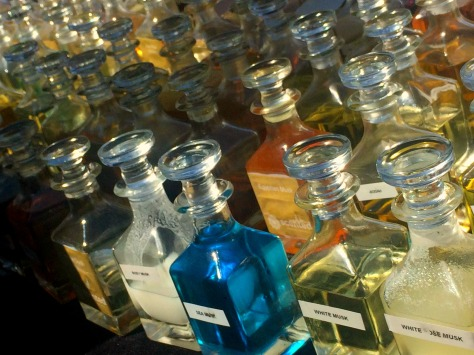 Attar perfume. This potions smelled like a piece of the rainbow. Truely! ok, maybe I exaggerate a little, Lol..
