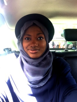 Me wearing Hijab.